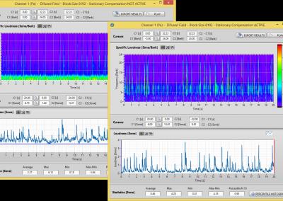 BSR Suite Squeak & Rattle Analyse mit Active Background Noise Cancellation