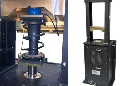SCTR Prüfstand für Schwingungs- und Geräuschanalysen an Fahrwerkskomponenten